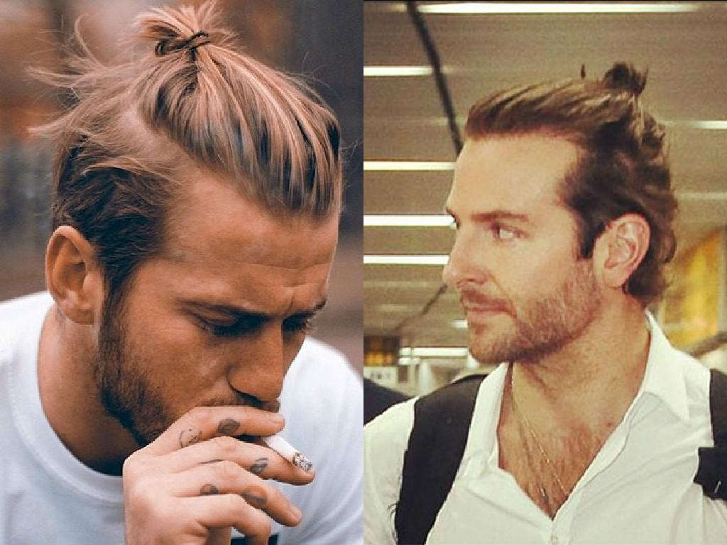 corte de cabelo samurai masculino