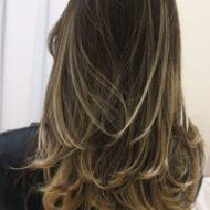 Corte de cabelo sem tirar o comprimento