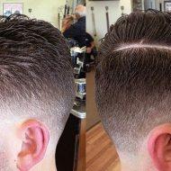 Corte de cabelo sombreado