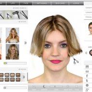 Corte de cabelo virtual