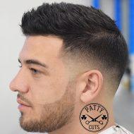Cote de cabelo masculino