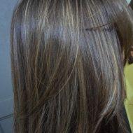Fotos de cabelo com luzes