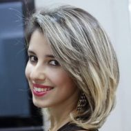 Fotos de cabelo curto com luzes