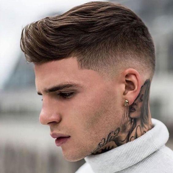 imagem de corte de cabelo masculino