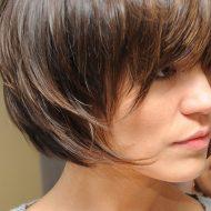Modelo de corte de cabelo curto