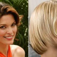 Modelo de corte de cabelo feminino