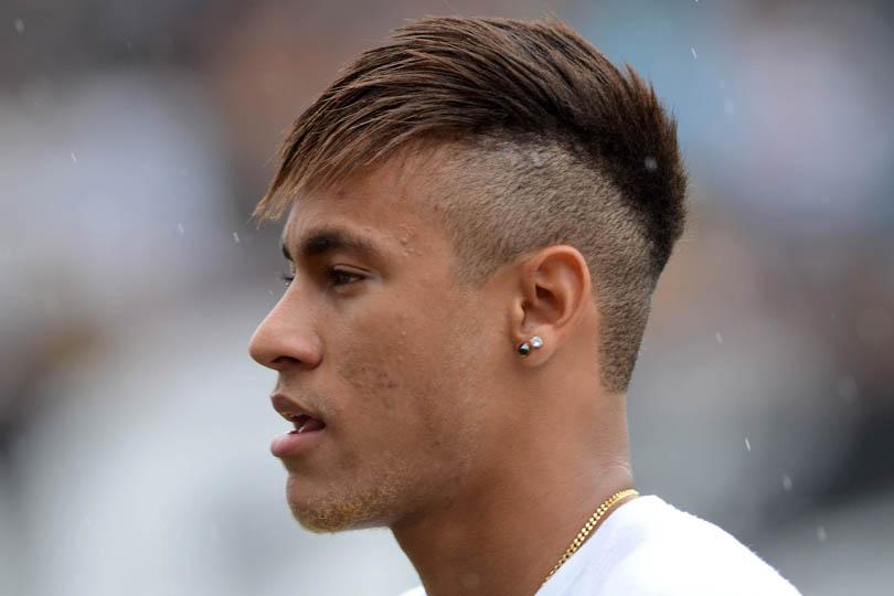 novo corte de cabelo do neymar