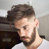 Novo corte de cabelo masculino