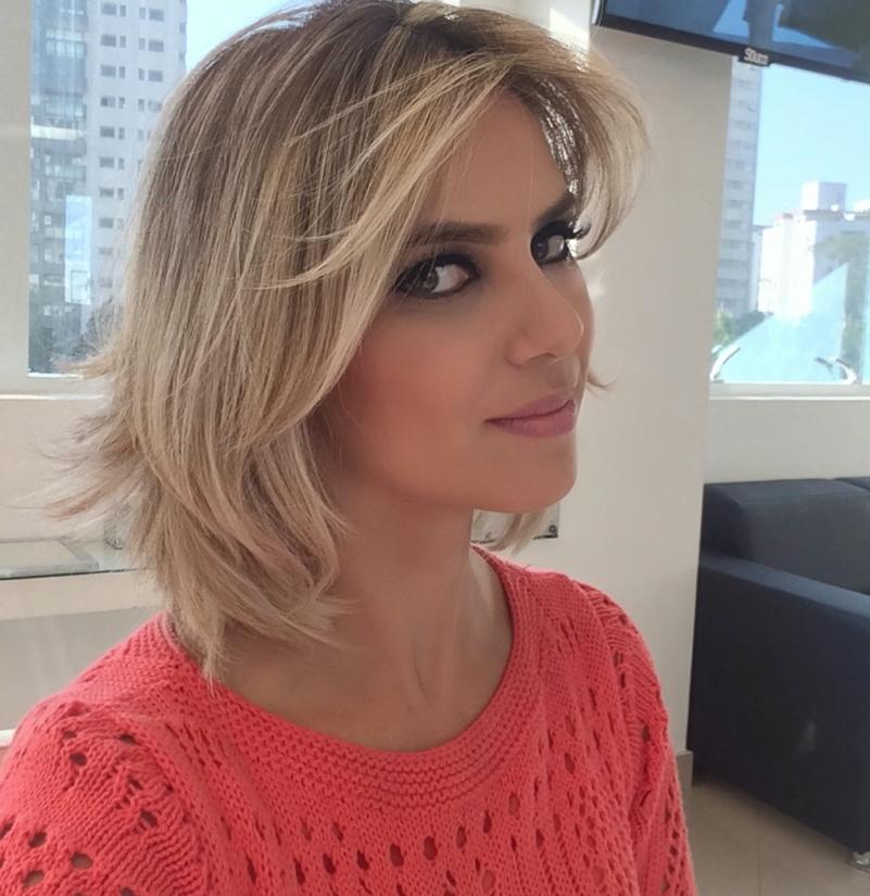 novo corte de cabelo