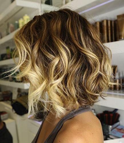 ombré hair cabelos curtos