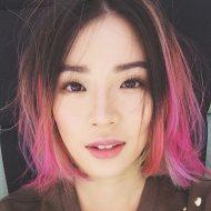 Ombre hair rosa cabelo curto