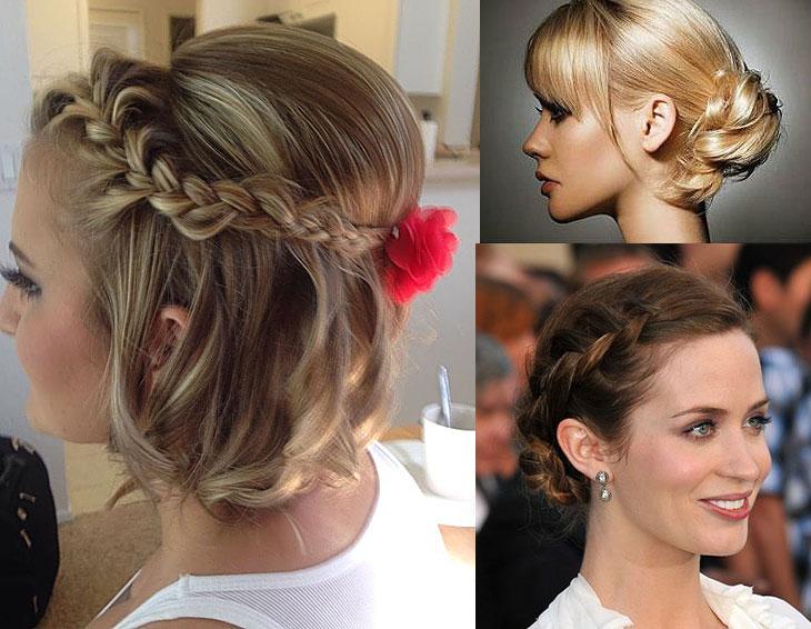 penteados para madrinha cabelo curto 2015