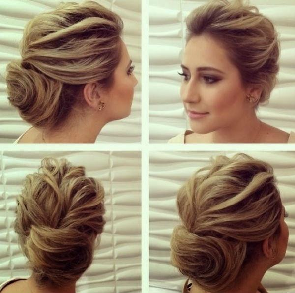 penteados para madrinha cabelo curto 2017