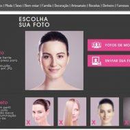 Simulador de corte de cabelo online