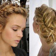 Tranças para cabelos curtos e repicados